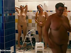 Celebrity, Group Sex, Shower, Small Tits