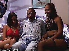Blowjob, Group Sex, Threesome