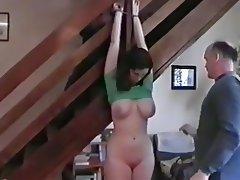 Amateur, Bondage, Cum in mouth, Threesome, Teen