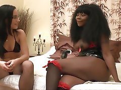 French, Hardcore, Interracial, Stockings