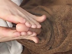 Dildo, Foot Fetish, Footjob