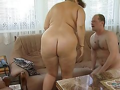 BBW, Big Boobs, Blowjob, Granny, Hardcore