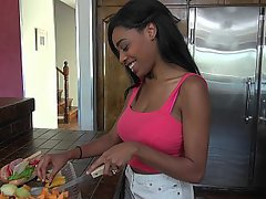 Black, Ebony, Teen, Webcam