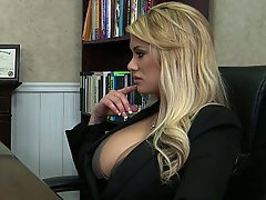 Blonde, Pornstar, Big Tits, Lesbian