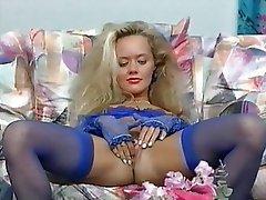 Blonde, German, Masturbation, Pornstar, Vintage
