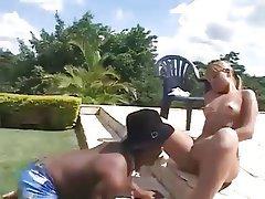 Brazil, Cumshot, Interracial, Midget