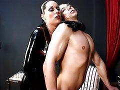 BDSM, Femdom, German, Latex, Strapon