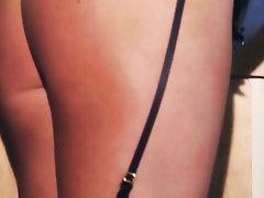 Babe, Big Tits, Panties, Secretary, Stockings