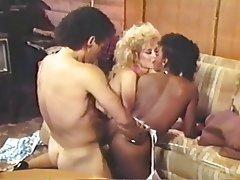 Group Sex, MILF, Stockings, Vintage