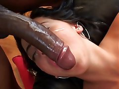 Interracial, Blowjob, Facial