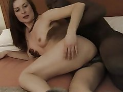 Anal, Brunette, Interracial