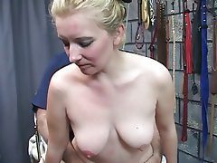 BDSM, Blonde, Blowjob, MILF
